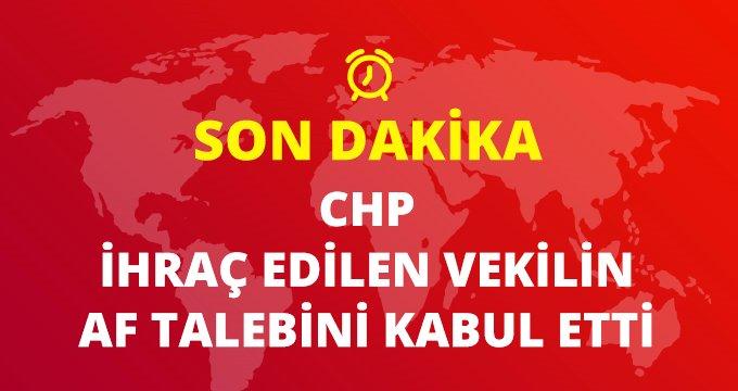 Son Dakika: CHP, Aylin Nazlıaka'nın af talebini kabul etti