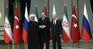 Liderlerin ortak açıklamasıyla Suriye konulu üçlü zirve başladı