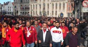 27 Galatasaray taraftarı Brugge maçı öncesi gözaltına alındı