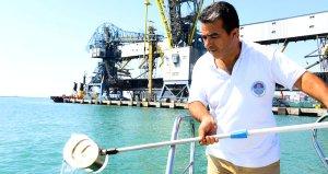 Denizi kirleten gemilere 14 milyon lira ceza kesildi