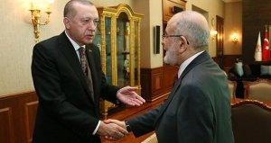 Erdoğanla görüşen Karamollaoğlu: KHK mağdurları için af hazırlığı yaptığı izlenimi edindim
