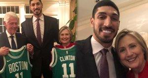 Hillary Clinton, FETÖcü Enes Kanteri yemeğe davet etti