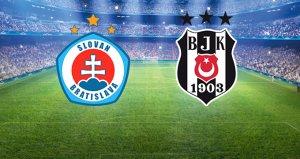Beşiktaş, Bratislava deplasmanında! Maçta dördüncü gol geldi