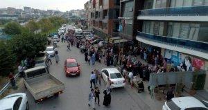 2 bin geçici personel alınacağını duyan İŞKUR binasının önüne koştu