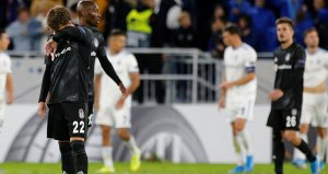 Beşiktaş, Slovan Bratislavaya yenildi! İşte K Grubunda puan durumu
