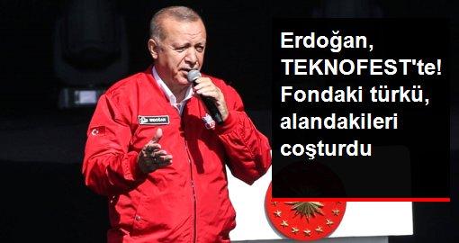 Son dakika: Erdoğan: TEKNOFEST'e katılım 500 bini aştı, hedef 1 milyon
