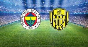Fenerbahçe 1-1 Ankaragücü / Canlı anlatım