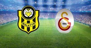 Galatasaray, Yeni Malatyaspor karşısında! Maçta ilk gol geldi