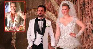 Görkemli bir düğünle evlenen Aylin Coşkun: Takılarımla 5 milyonluk villa alırım