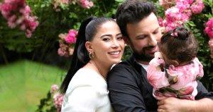 Tarkanın eşi Pınar Tevetoğlu, gazetecileri görünce kaçacak yer aradı