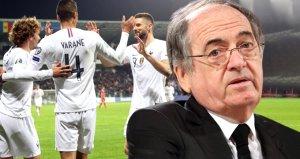 Fransadan Türkiye maçı öncesi taraftar ve Barış Pınarı Harekatı açıklaması