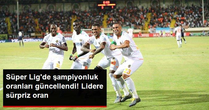 Süper Ligde şampiyonluk oranları güncellendi! Lidere sürpriz oran