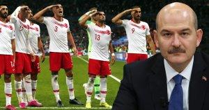 Süleyman Soylu: Asker selamı veren futbolcularımızı soruşturuyorlar, çok paniklemişler