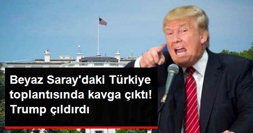 Beyaz Saray'daki Türkiye toplantısında kavga çıktı! Trump çıldırdı