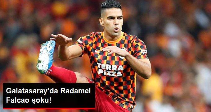 Galatasaray da Radamel Falcao şoku!