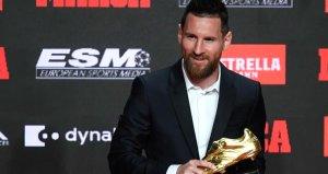 Messi Altın Ayakkabı 6. kez kazandı, Ronaldo ile arayı açtı
