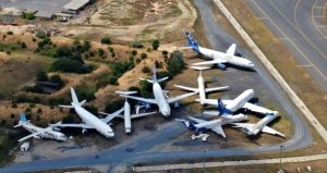 Atatürk Havalimanında bırakılan 16 uçağın sahibi çıkmadı: Açık artırmayla satılacak
