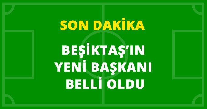 Son Dakika: Beşiktaş'ın yeni başkanı Ahmet Nur Çebi oldu!