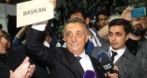 Beşiktaşın yeni başkanı Ahmet Nur Çebi: Beşiktaşın şerefi, namusu, bir kuruşu bize emanet