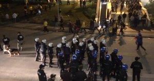 Ankaragücü-Beşiktaş maçının ardından kavga çıktı! 3 polis yaralandı