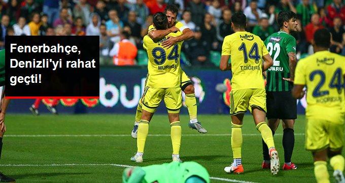 Fenerbahçe, Denizliyi rahat geçti!