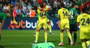 Fenerbahçe, Denizlisporu 2-1 mağlup etti!