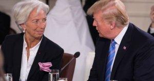 Christine Lagardeden Trumpa şok sözler: Küresel ekonomiye zarar veriyor