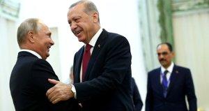 Cumhurbaşkanı Erdoğan, Putin'le 10 ayda 8 kez görüştü
