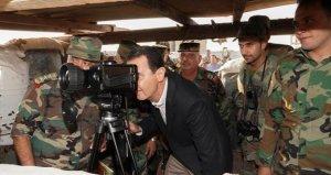 Beşar Esed, İdlibde askerlerle bir araya geldi