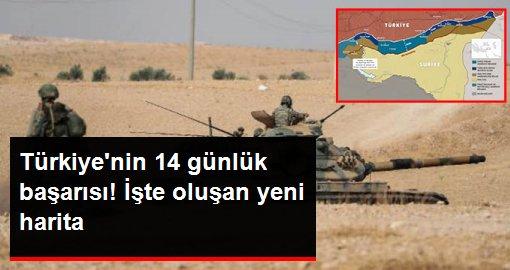 ABD ve Rusya anlaşmaları sonrası harita ortaya çıktı! Türkiye 14 günde güvenli bölge tezini 4 ülkeye kabul ettirdi