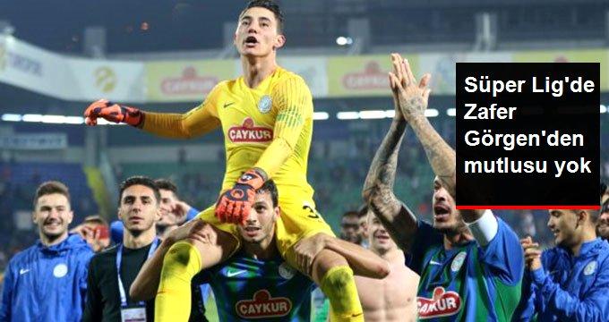 Süper Lig de Zafer Görgen den mutlusu yok