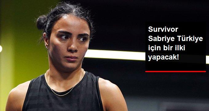 Survivor Sabriye Türkiye için bir ilki yapacak!