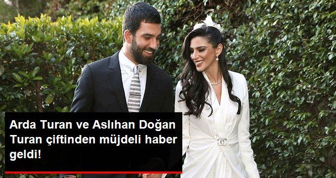 Arda Turan ve Aslıhan Doğan Turan çiftinden müjdeli haber geldi!