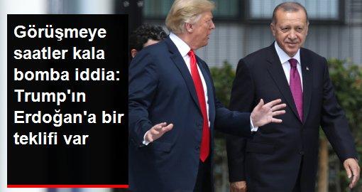 Washington Post, Trump'ın Erdoğan'a 100 milyar dolarlık ticaret anlaşması önereceğini iddia etti