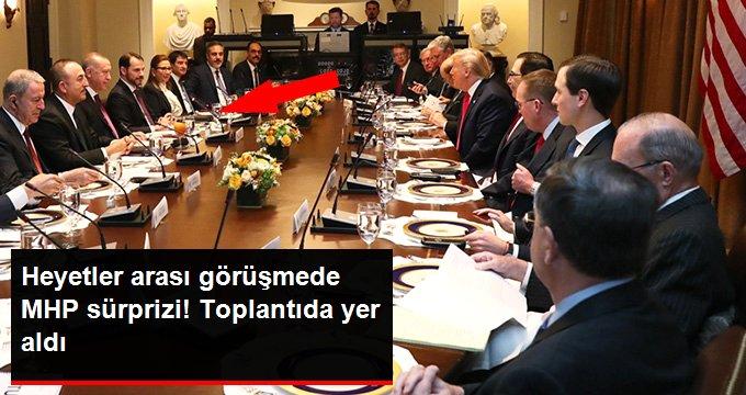 Heyetler arası görüşmede MHPli İsmail Faruk Aksu da yer aldı