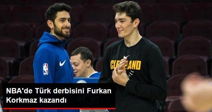 NBA de Türk derbisini Furkan Korkmaz kazandı