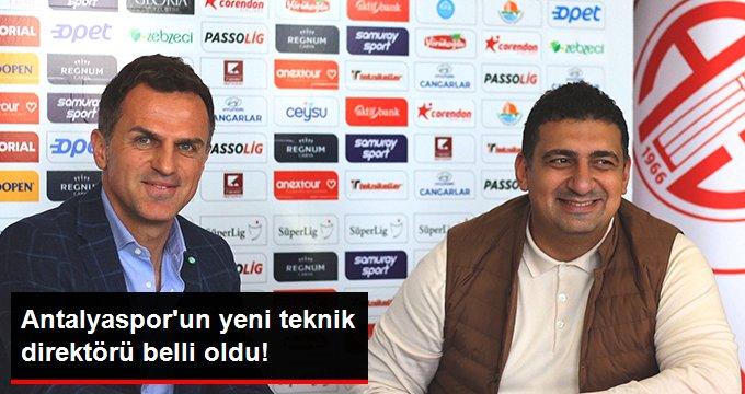 Antalyasporun yeni teknik direktörü belli oldu!