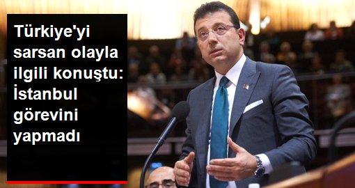 Son dakika: Siyanürlü intiharlarla ilgili konuşan İmamoğlu: İnsanlarımız sıkıntı içindeyse İstanbul görevini yapmamıştır