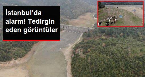 İstanbul'da tedirgin eden görüntüler! Barajların doluluk oranı yüzde 39'a düştü