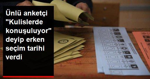 Ünlü anketçi Mehmet Ali Kulat erken seçim için tarih verdi: Kulislerde 2020 Kasım konuşuluyor