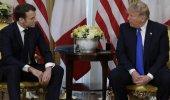 Trump-Macron görüşmesine damga vuran soru