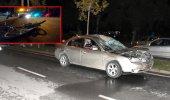 Korkunç kaza! Bisikletli adam metrelerce sürüklendi