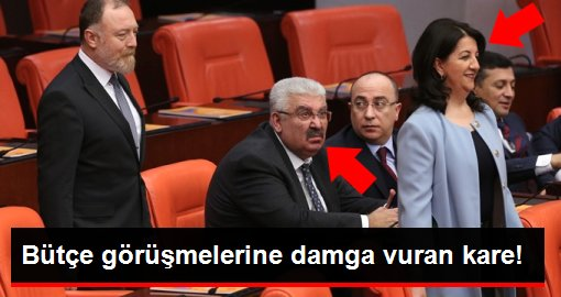 MHP'li Semih Yalçın'ın HDP'li Pervin Buldan'a bakışı olay oldu