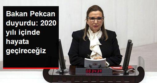 Bakan Pekcan: İthalatta yerinde gümrükleme uygulamasını 2020 yılı içinde hayata geçireceğiz