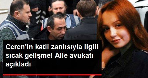 Ceren Özdemir'in katil zanlısının ilk duruşmasının tarihi ve saati belli oldu