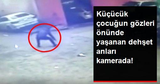 Fatih'te silahlı kavga! Korku dolu anlar saniye saniye kamerada