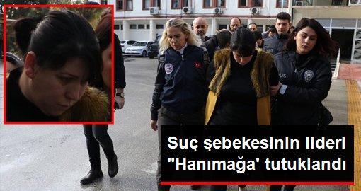 Mersin'de düzenlenen operasyon kapsamında gözaltına alınan hanımağa lakaplı şahıs tutuklandı