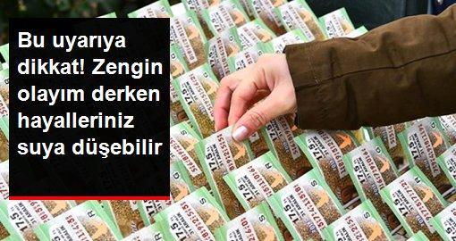 TESK'ten sahte Milli Piyango bileti uyarısı
