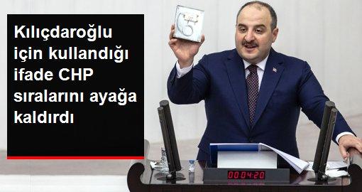 Bakan Varank'ın, Kılıçdaroğlu için kullandığı ifade CHP sıralarını ayaklandırdı