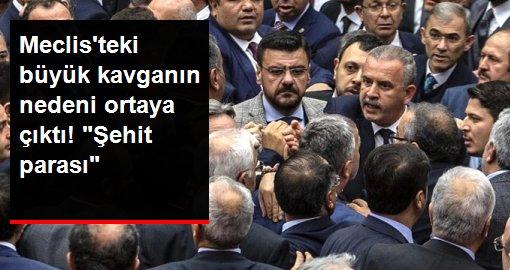 Meclis'te AK Parti ile CHP arasında 'şehit parası' kavgası